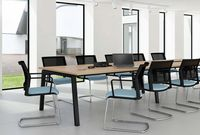 I SIT Meeting Chair Cantilever Base